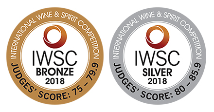 IWSC Awards 2018 –  look what we've won!