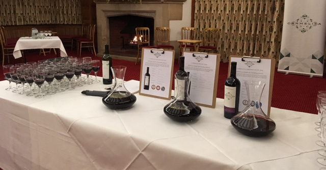 Roaring fires and roaring reviews at our Bucks tasting!