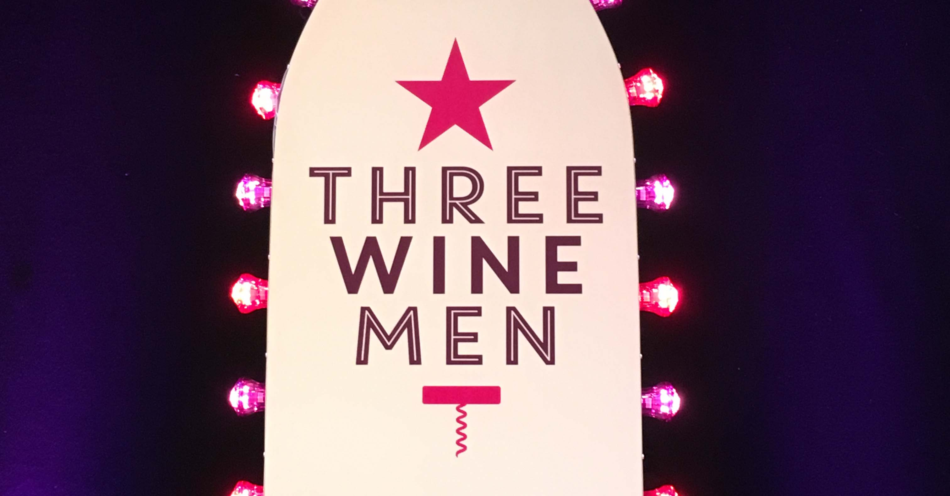 NEW Three Wine Men tour dates for 2018